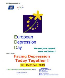 European Depression Day 2019