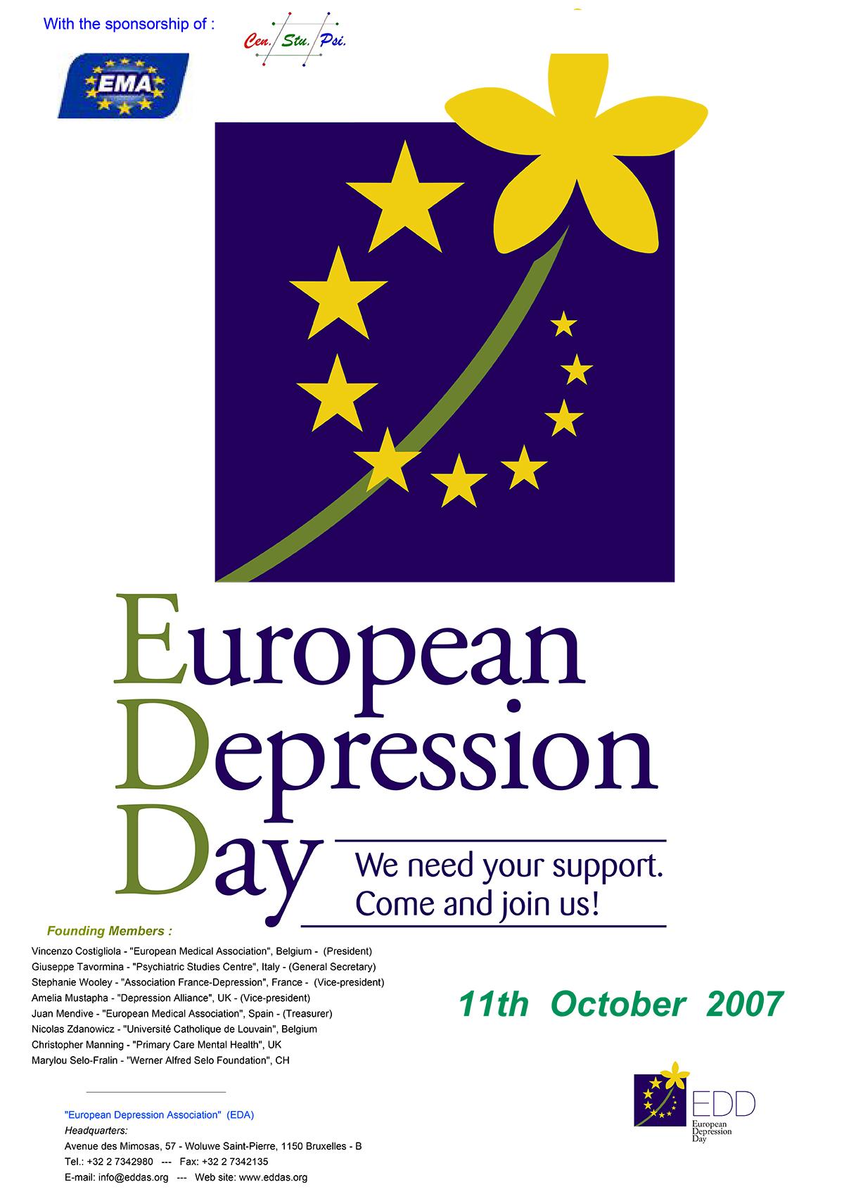 European Depression Day 2007