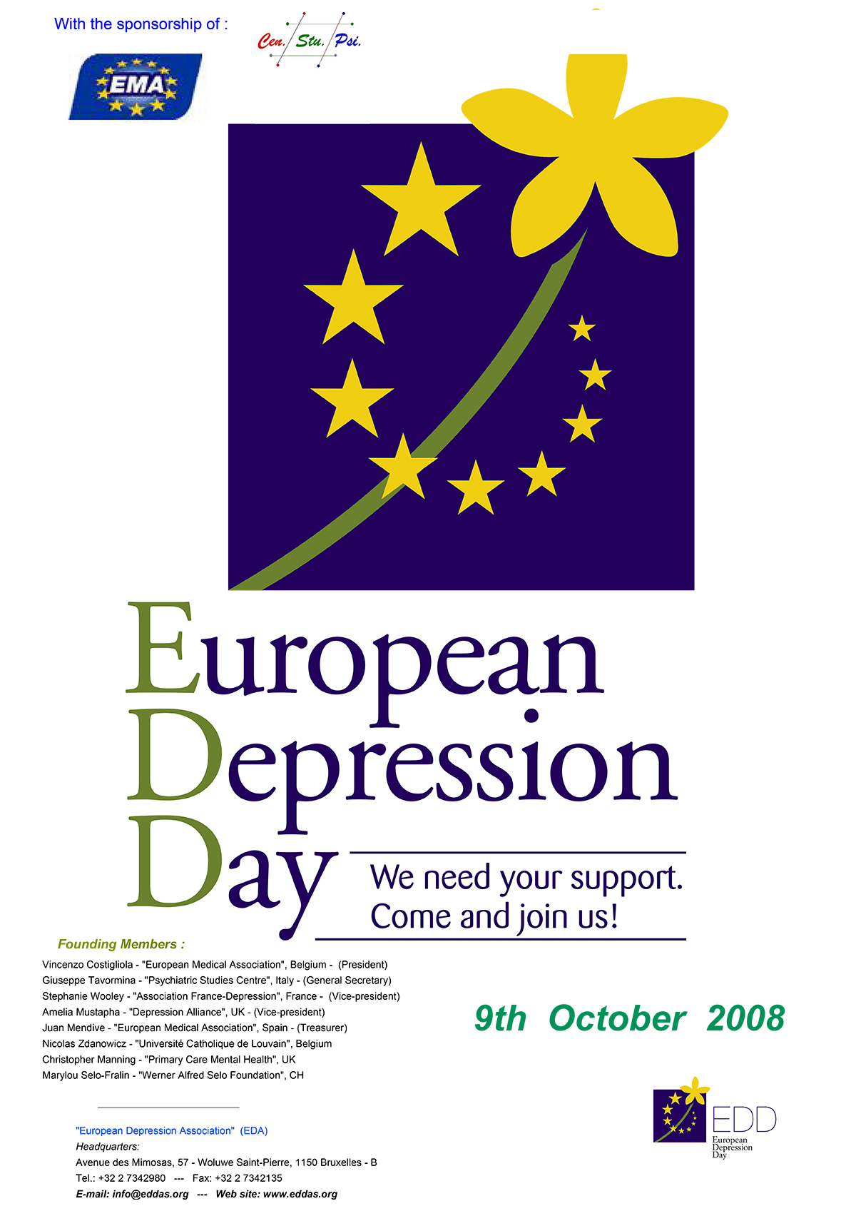 European Depression Day 2008