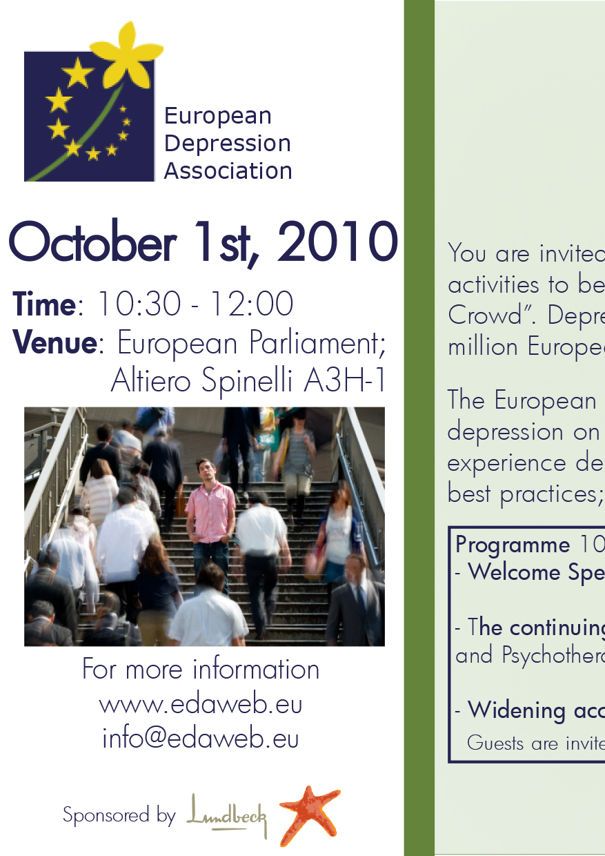 European Depression Day 2010