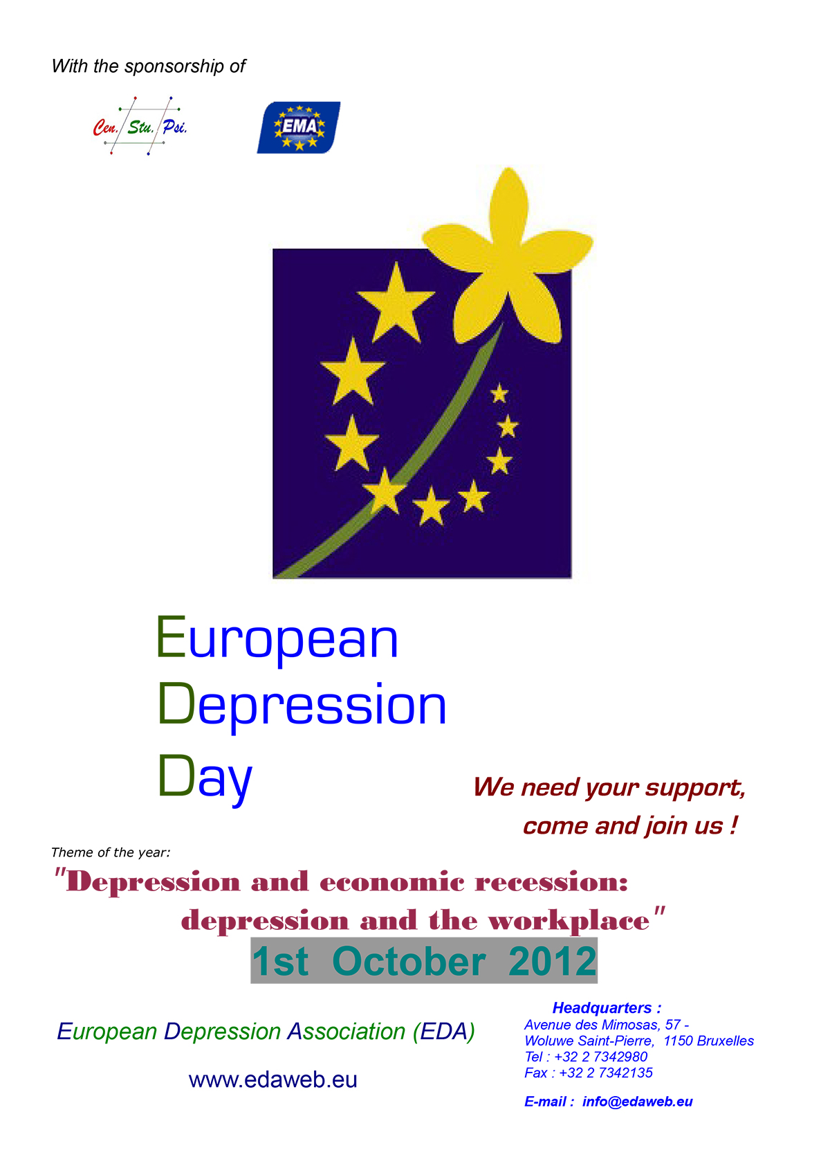 European Depression Day 2012