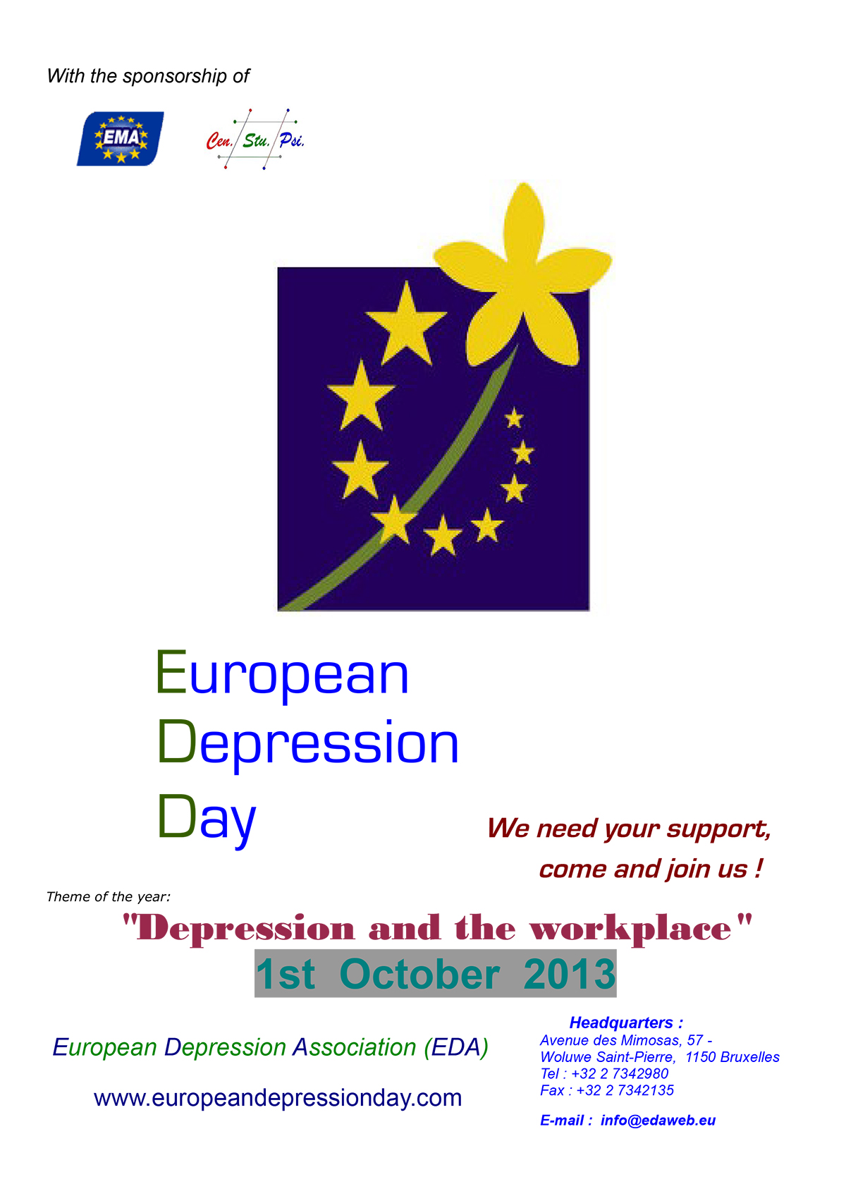 European Depression Day 2013