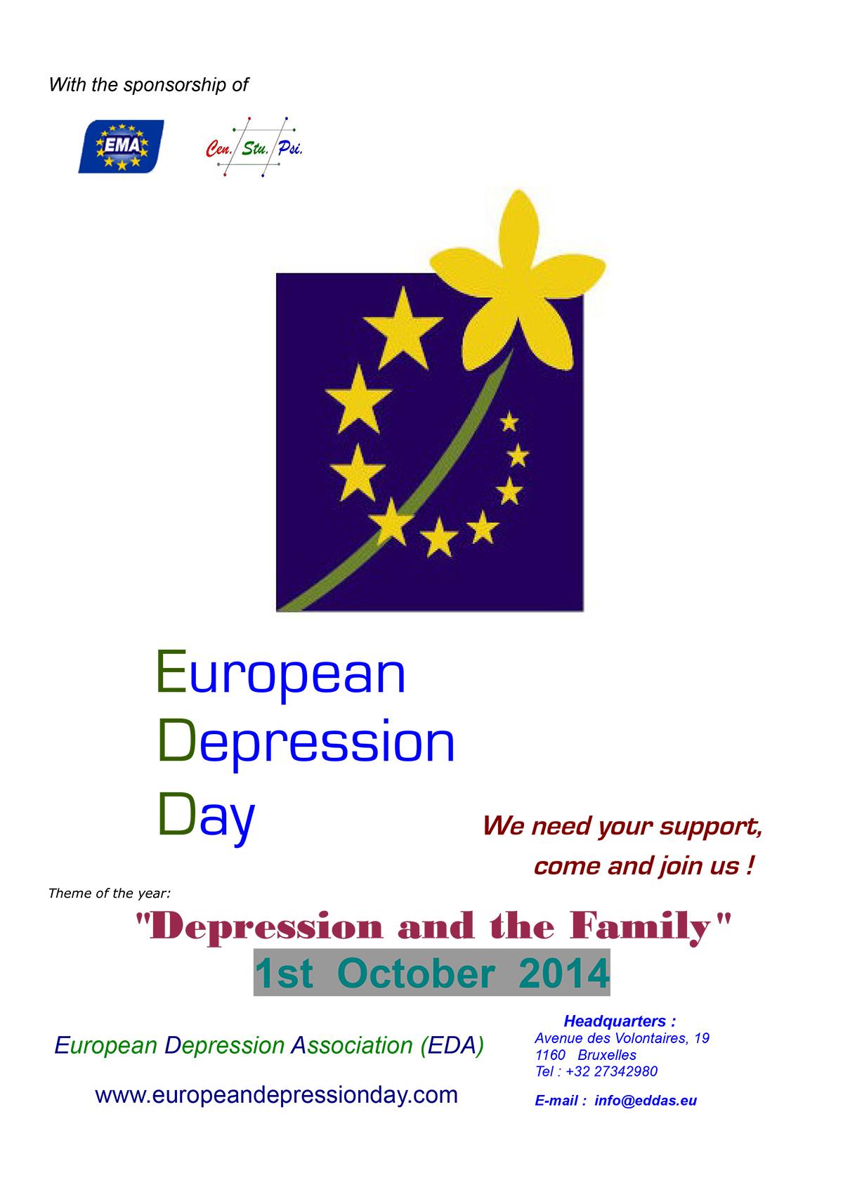 European Depression Day 2014