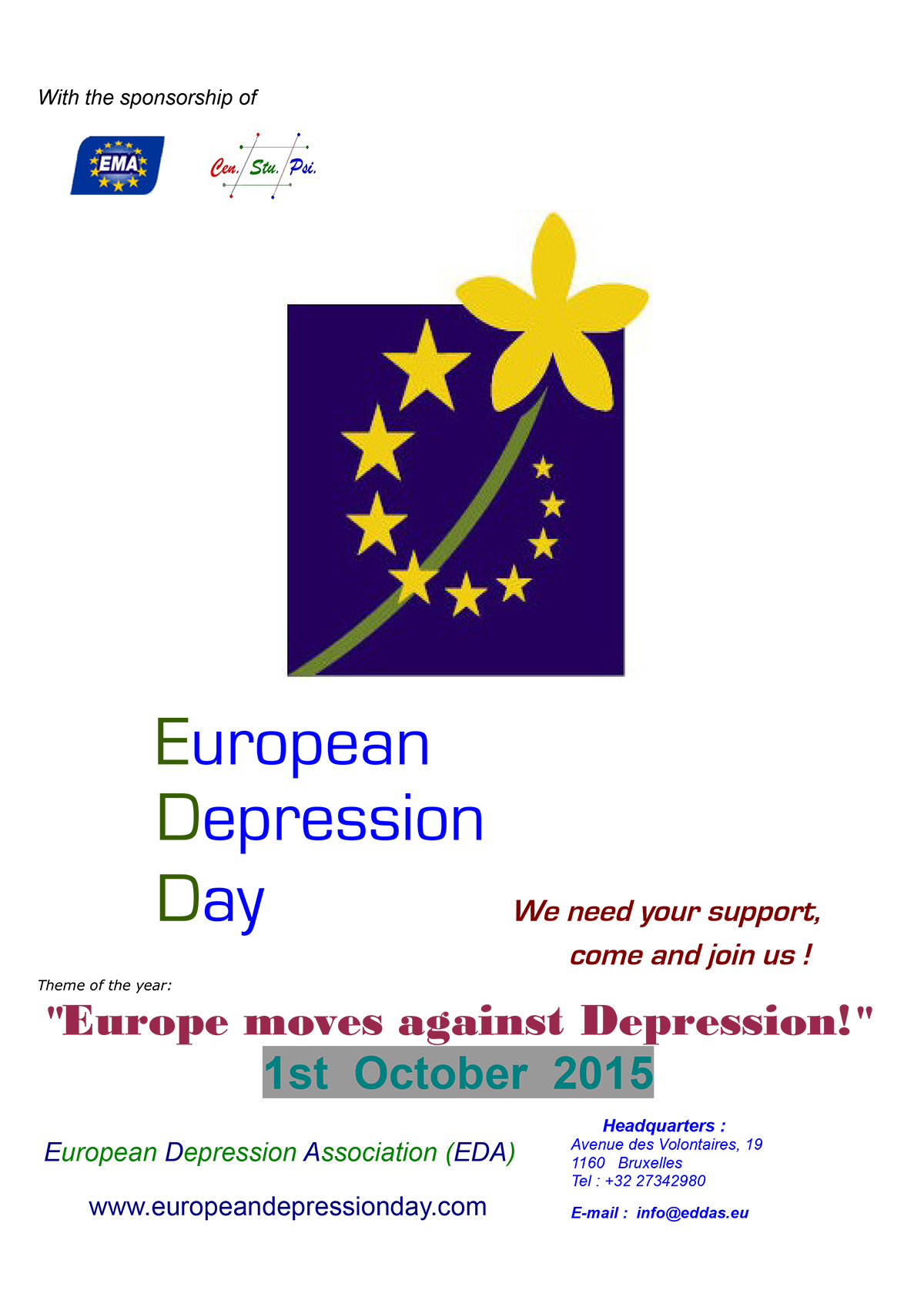 European Depression Day 2015