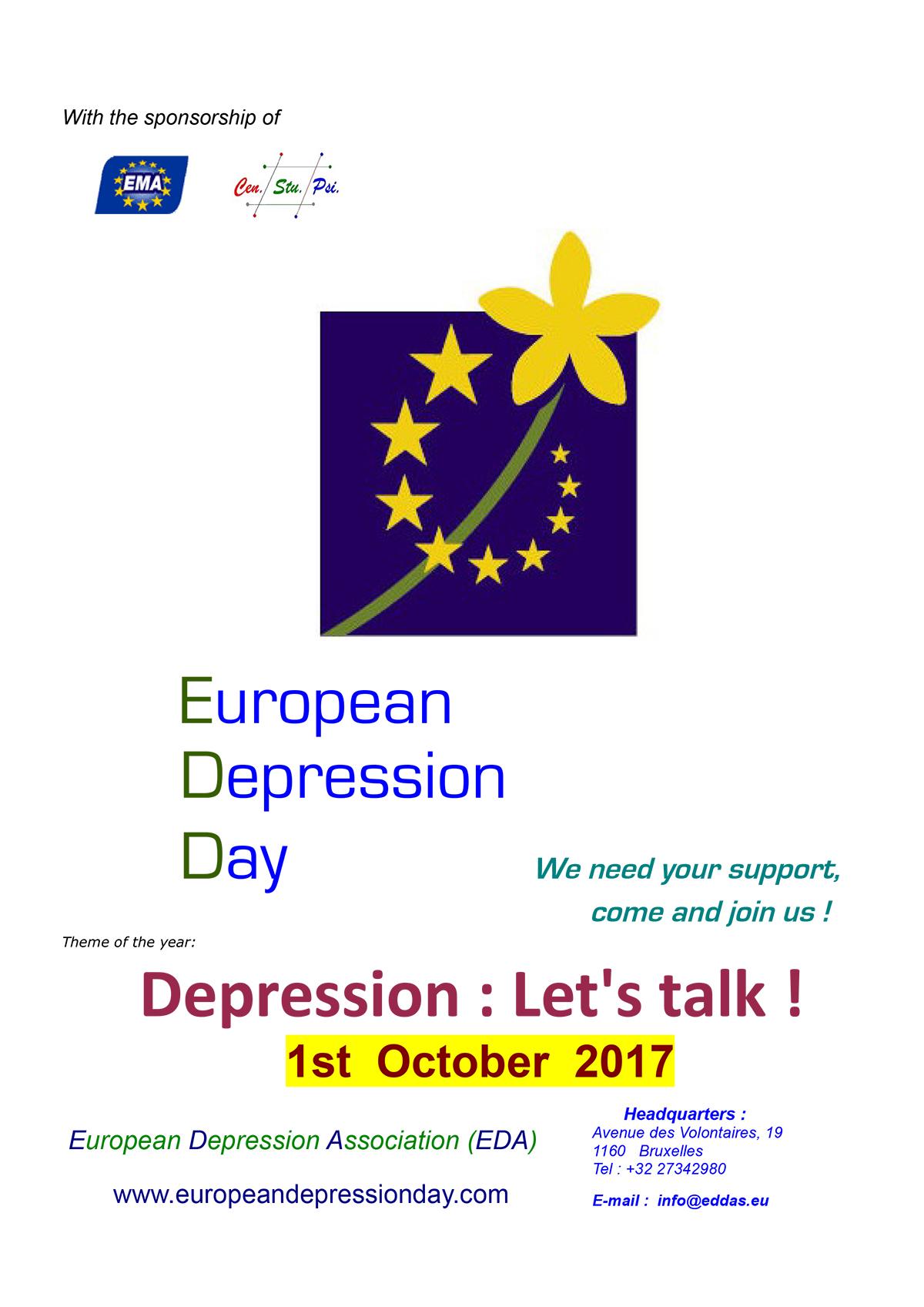 European Depression Day 2017